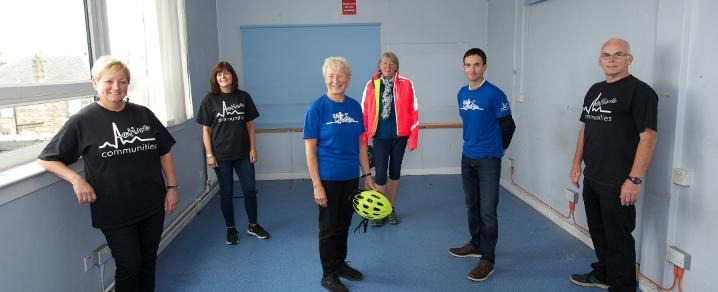 Active Communities at former Johnstone Police Station
