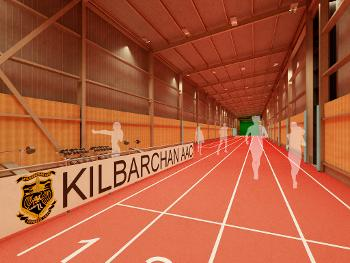 Kilbarchan running track (credit CRGP Architects & Surveyors)