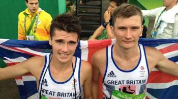 Callum and Derek Hawkins at Rio Olympics