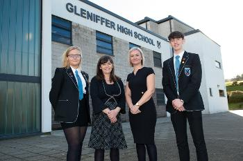 Gleniffer Ministerial Visit Childrens Mental Health Week