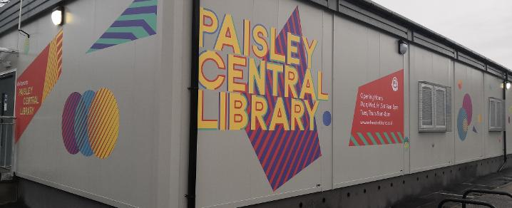 Temporary Paisley Central Library