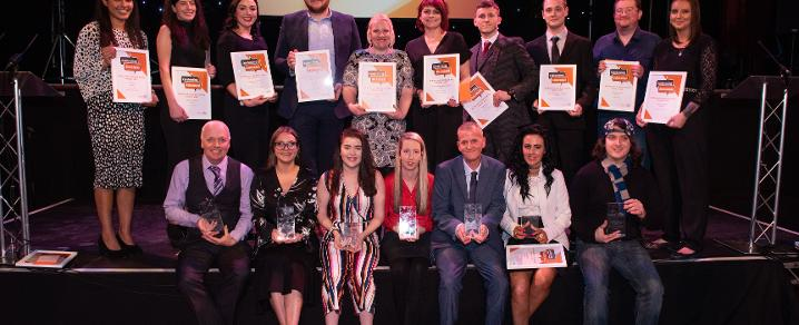 Employability award winners 2018