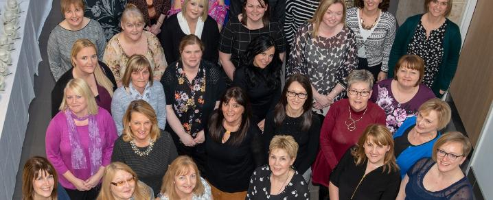 Classroom assistants from Renfrewshire primary schools completed a professional learning programme