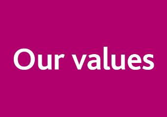 Staff - our values