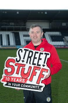 Stevie Gallacher - Street Stuff Manager
