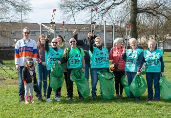 Blythswood volunteers
