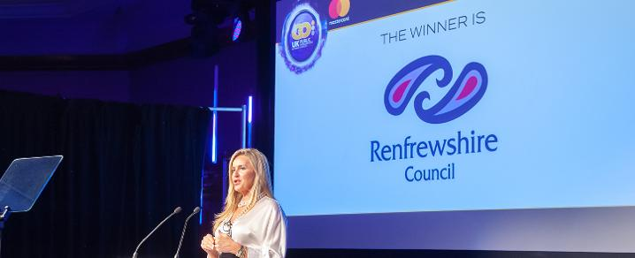 Renfrewshire Council wins the GO Award